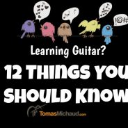 12 Things You Should Know About Your Guitar Learning Journey