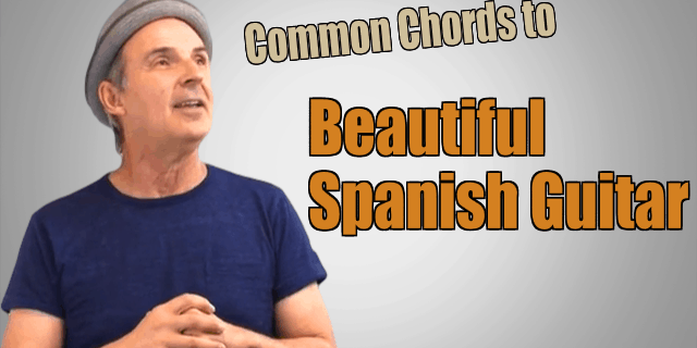 Changing Common Chords Into Beautiful Spanish Guitar