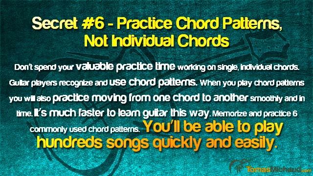 Choose Chord Patterns Over Individual Chords