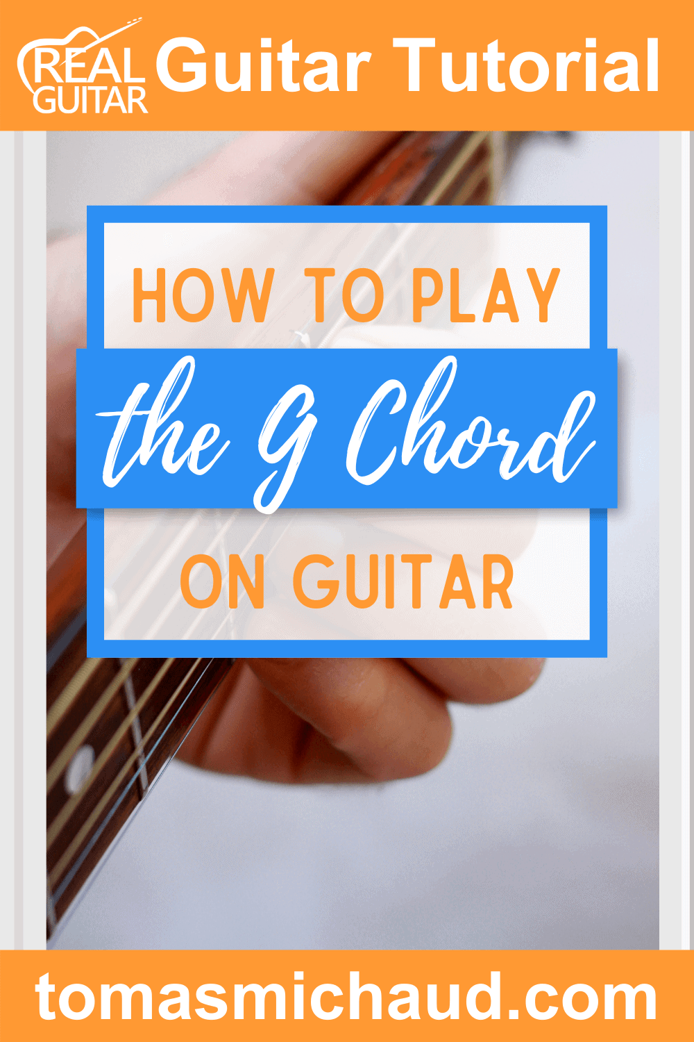 HOW TO PLAY THE G CHORD ON GUITAR
