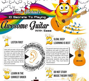 "10 ""Keys"" To Play Guitar With Ease And Be Truly Awesome"