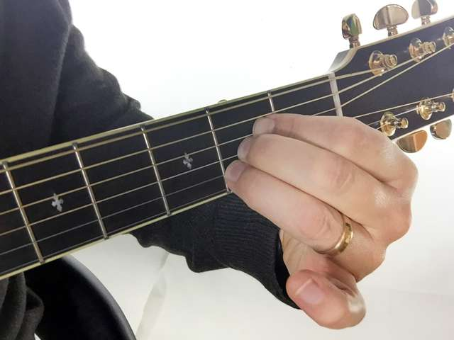 "Difficulties fingering chords? ""A"" Chord & ""Fat Fingers"""