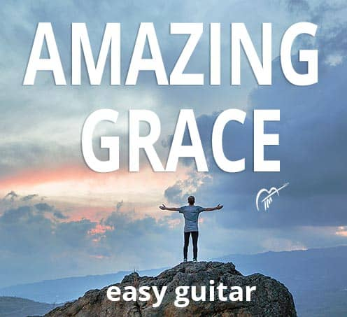 Amazing Grace Guitar Chords (Easy Version)