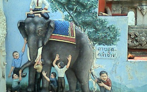 Six Blind Students And The Elephant