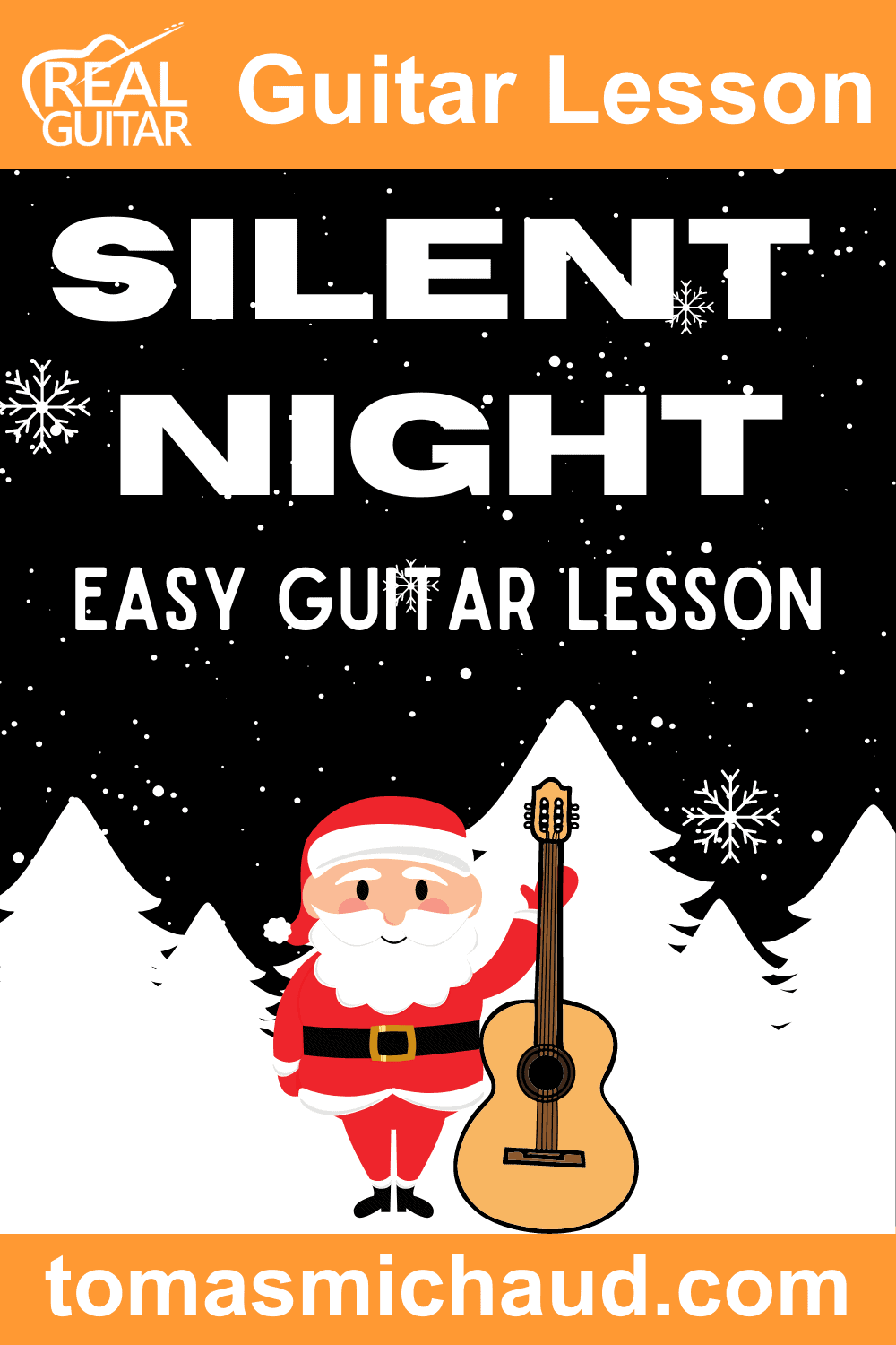 Silent Night Easy Guitar Lesson