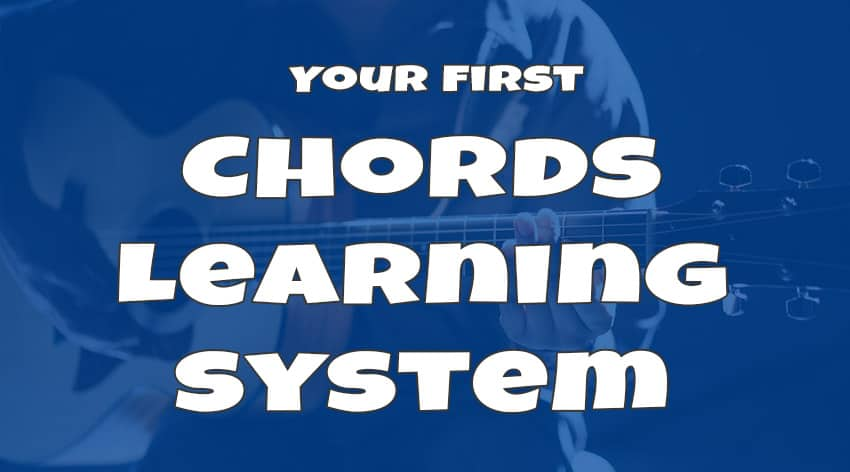 your first chords learning system