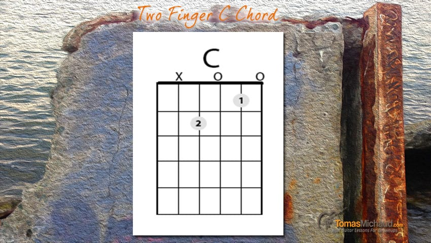 C-two-finger-chord