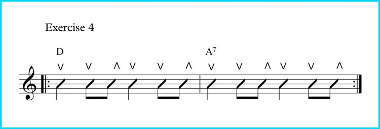 Exercise 4 - Changing Chords