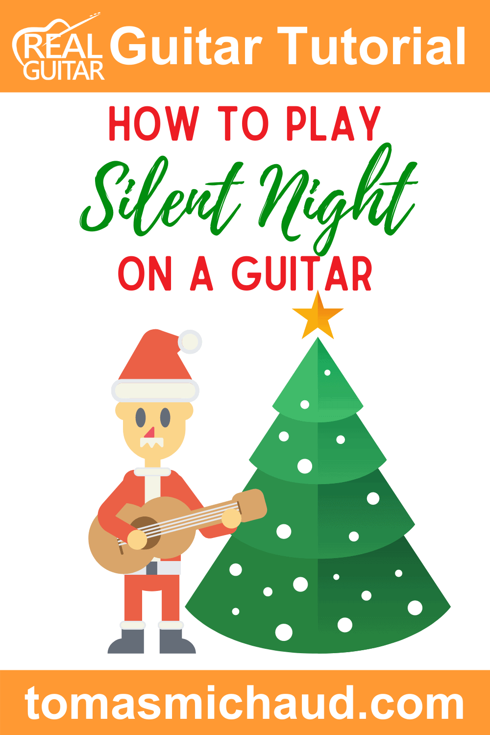 How To Play Silent Night On A Guitar