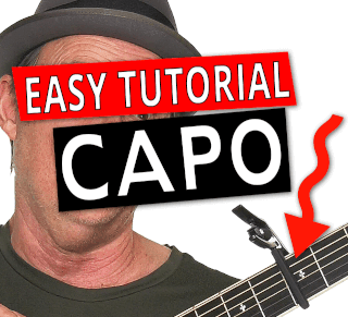 How To Change Keys Using A Capo