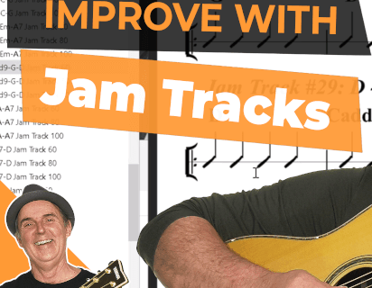 How To Improve Your Guitar Playing Fast Using Jam Tracks