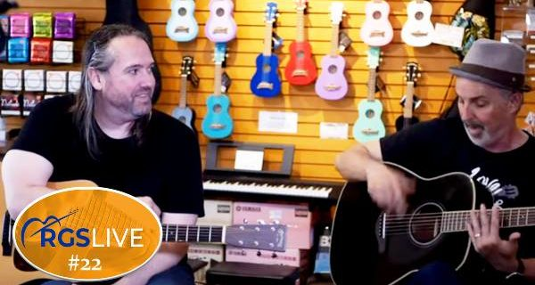 RGS Live # 22 | Fingerpicking: Beyond Basics with Vince Mellone