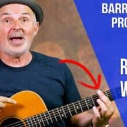 Barre Chord Exercise that Works!