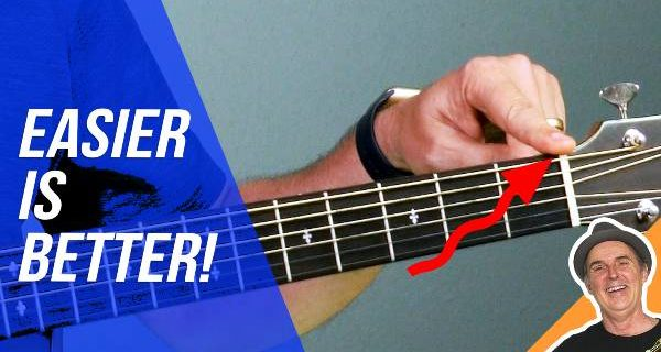 How to Make Your Acoustic Guitar Easier to Play