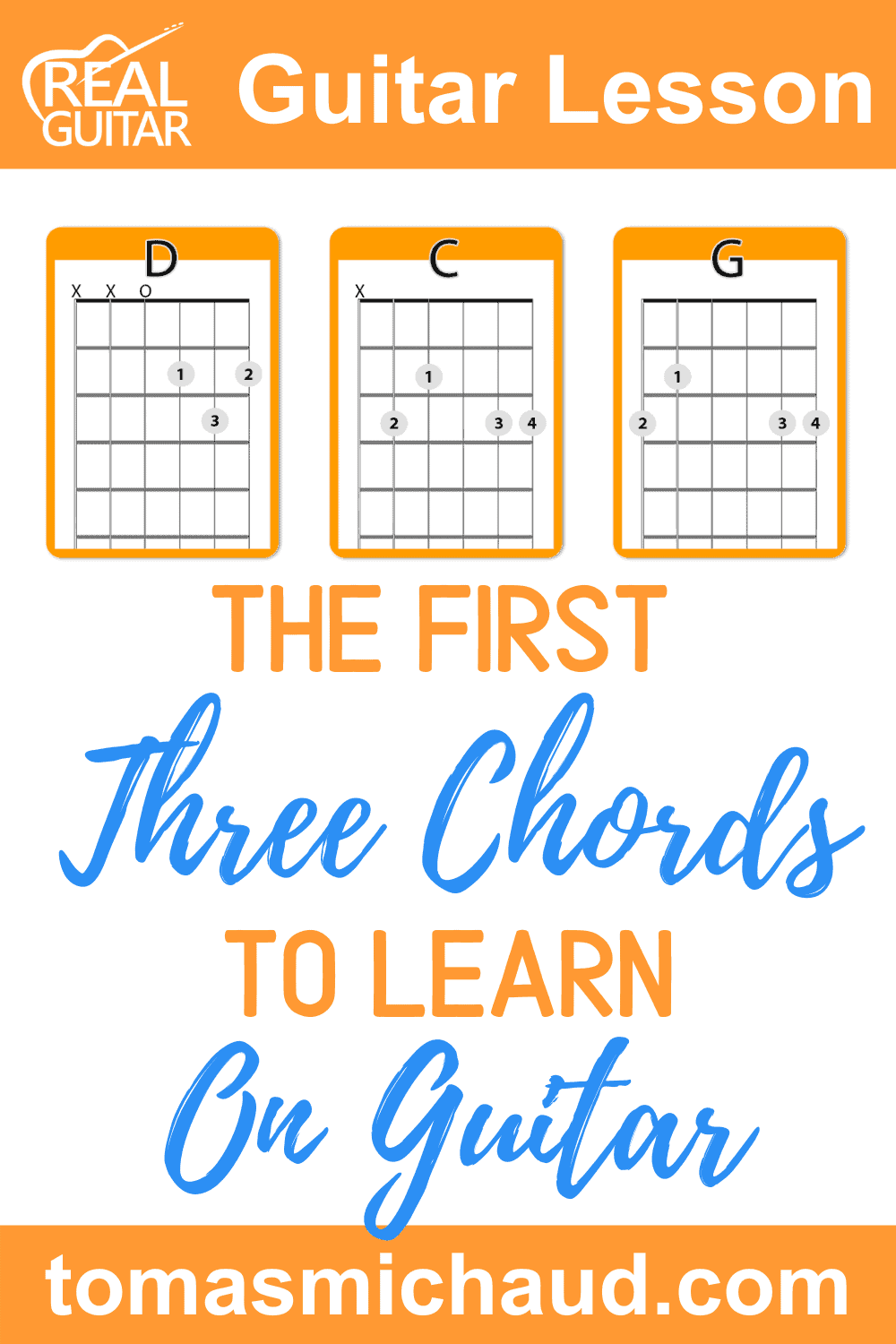 The First Three Chords To Learn On Guitar