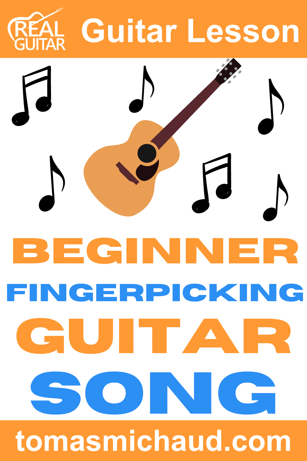 Beginner Fingerpicking Guitar Song