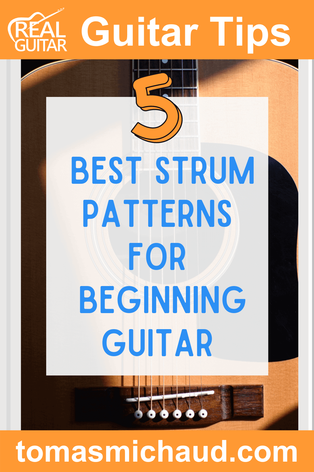 Best 5 Strum Patters for Beginning Guitar