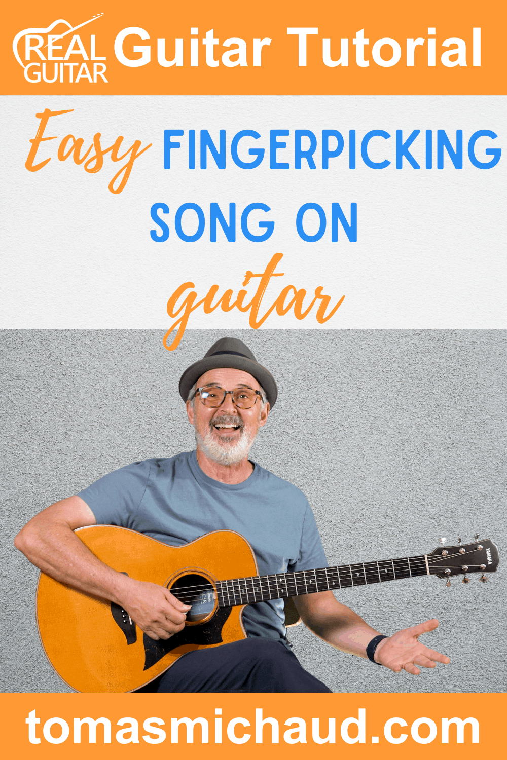 Easy Fingerpicking Song on Guitar