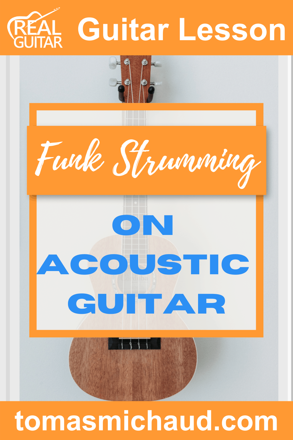 Funk Strumming on Acoustic Guitar