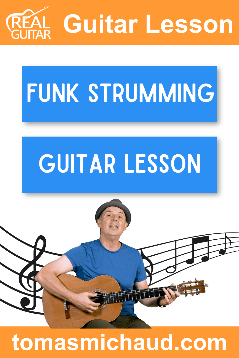 Funk Strumming Guitar Lesson