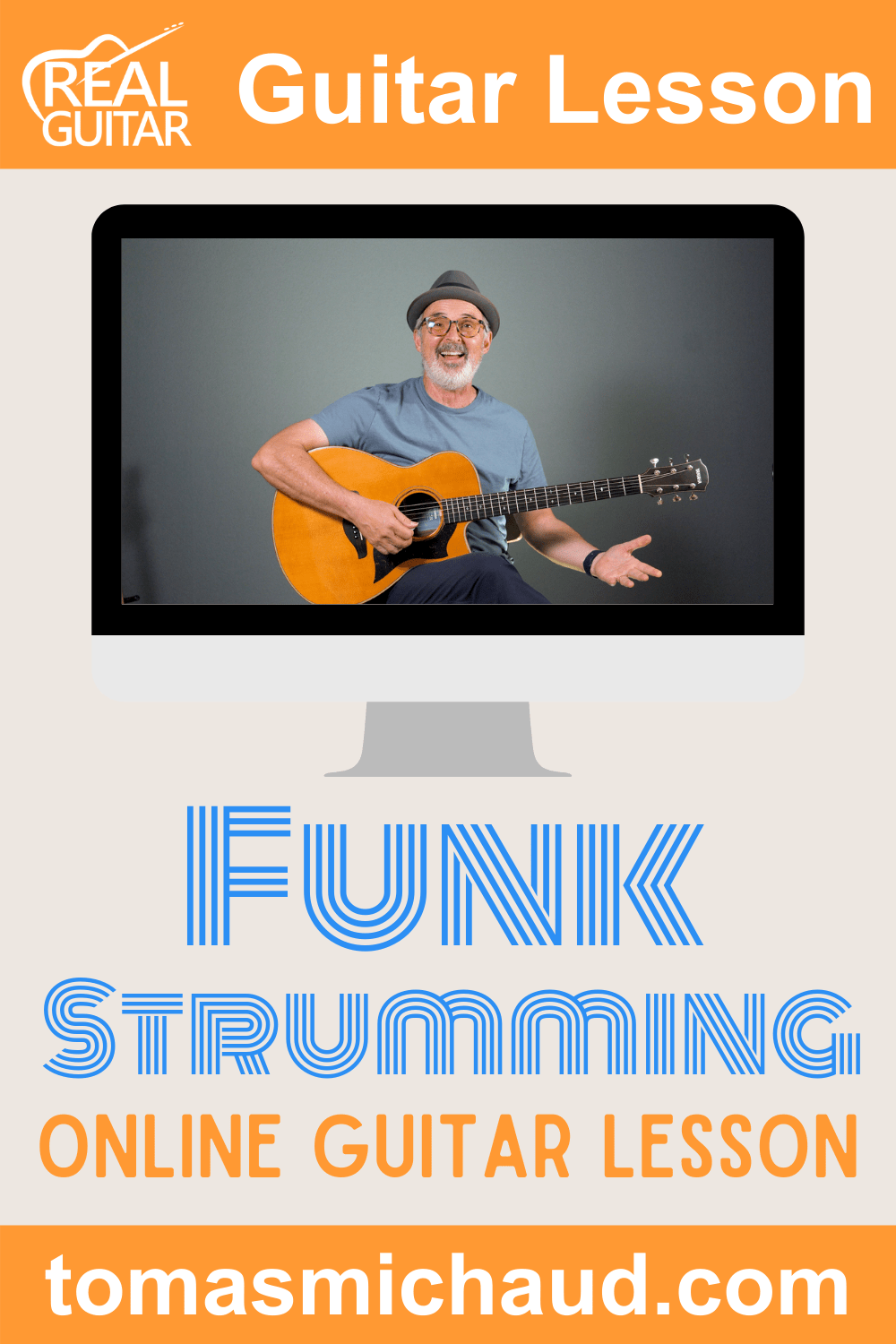 Funk Strumming Online Guitar Lesson