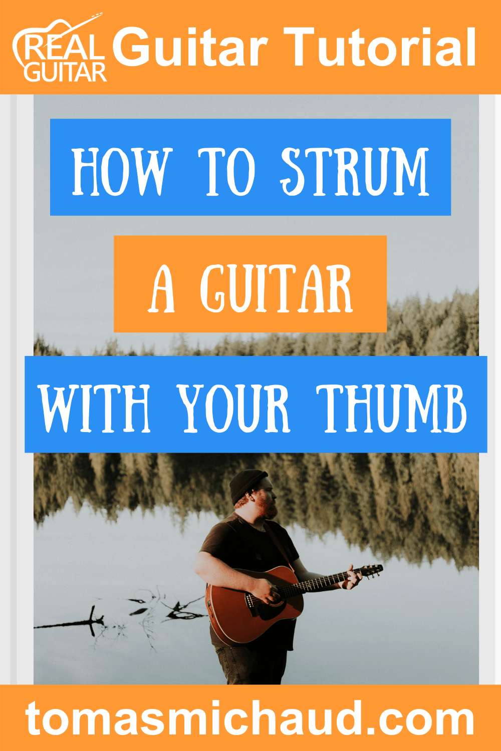 How To Strum A Guitar With Your Thumb