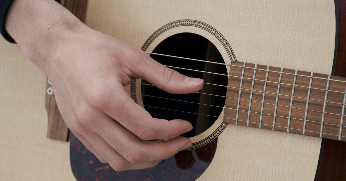 Play Guitar With Fingers