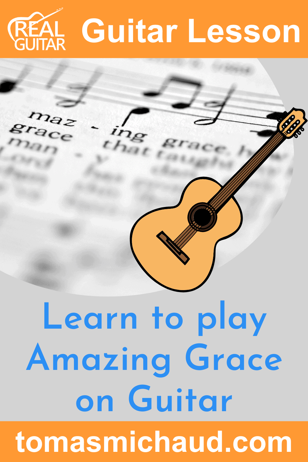 Learn to Play Amazing Grace on Guitar