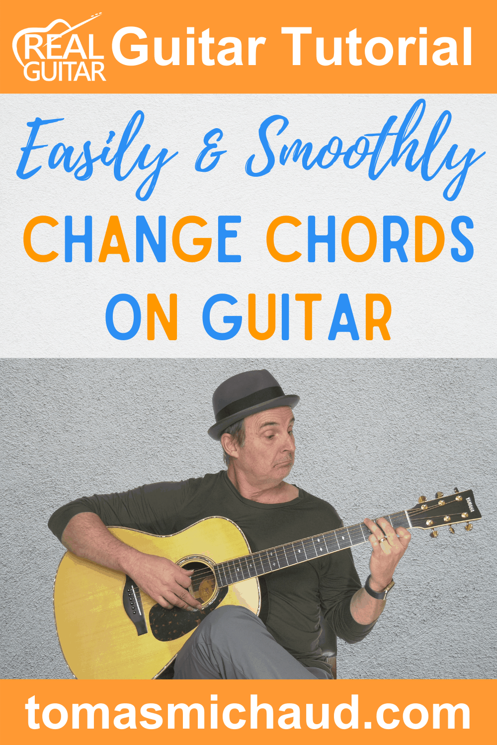 Easily And Smoothly Change Chords On Guitar