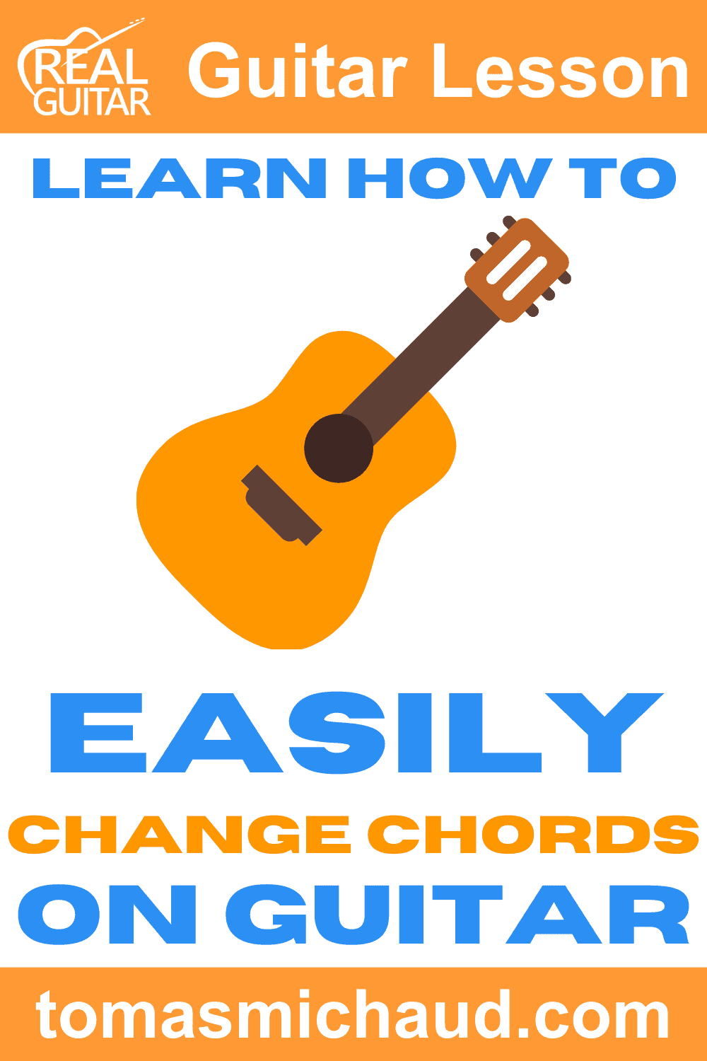 Learn How To Easily Change Chords On Guitar
