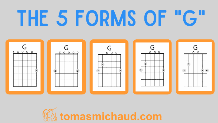 """5 Forms of """"G"""""""