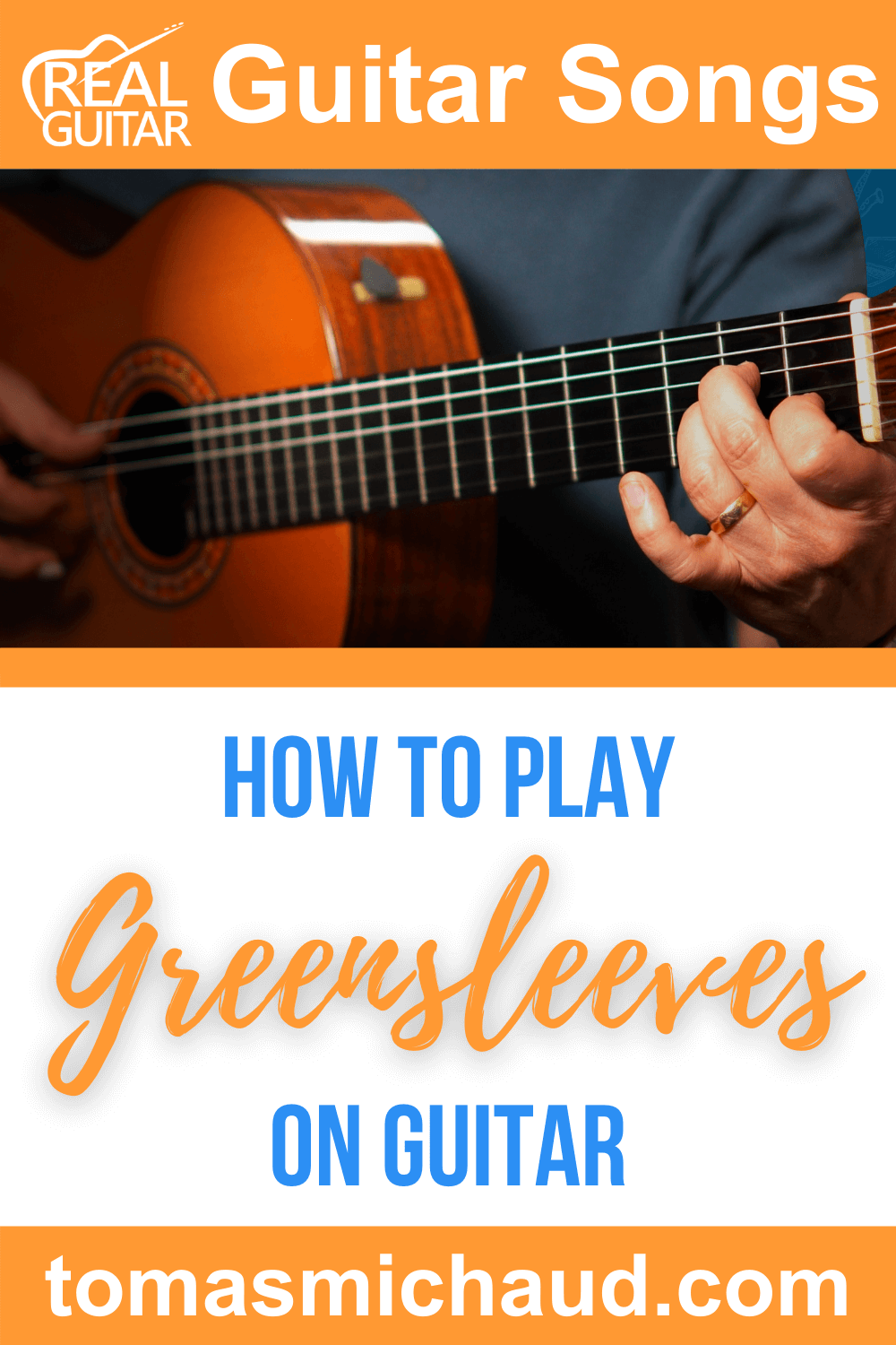 How to Play Greensleeves On Guitar