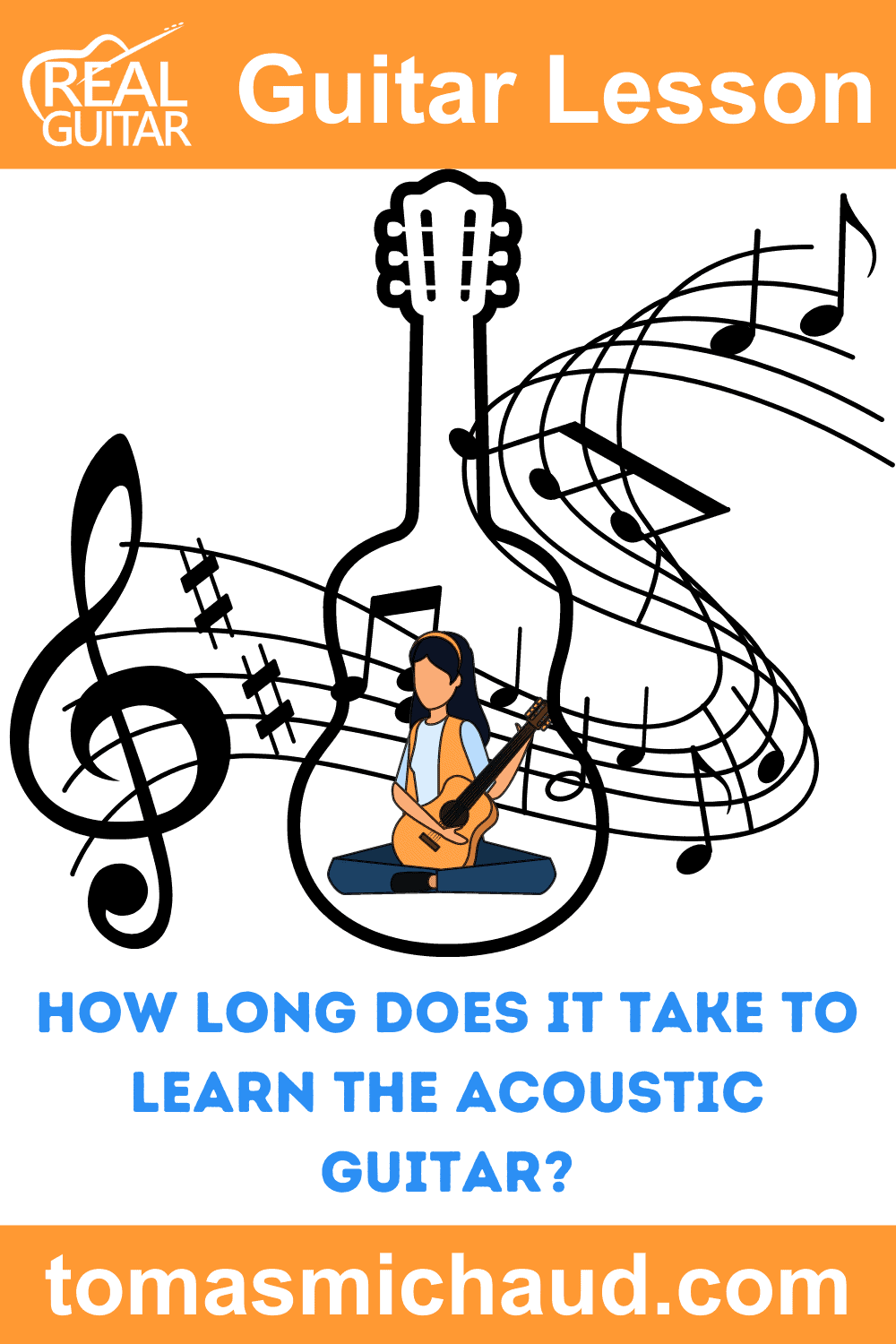 How Long Does It Take To Learn The Acoustic Guitar