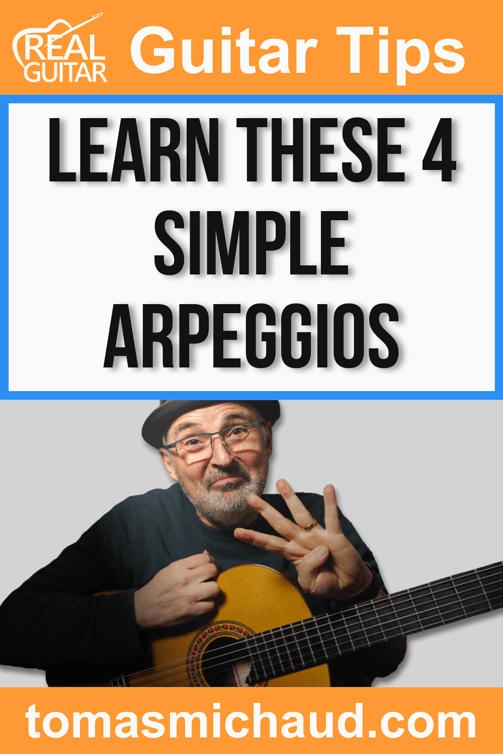 Learn These 4 Simple Arpeggios