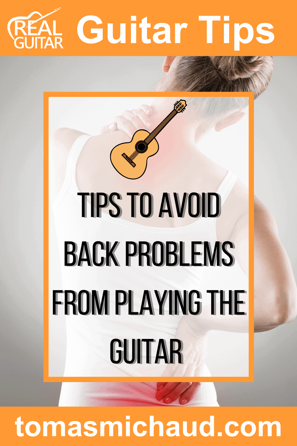 Tips to avoid back problems from playing the guitar