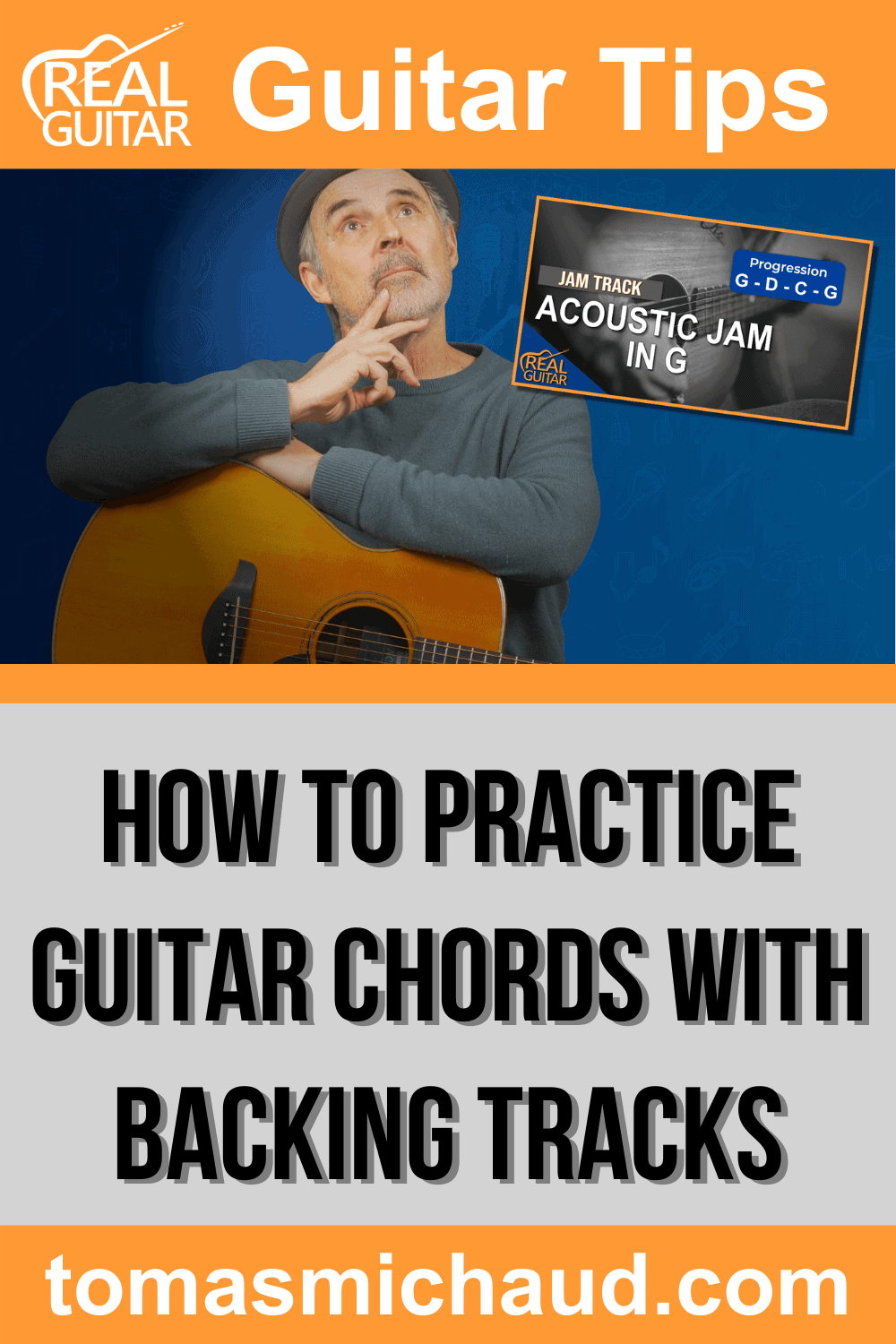 How To Practice Guitar Chords With Backing Tracks
