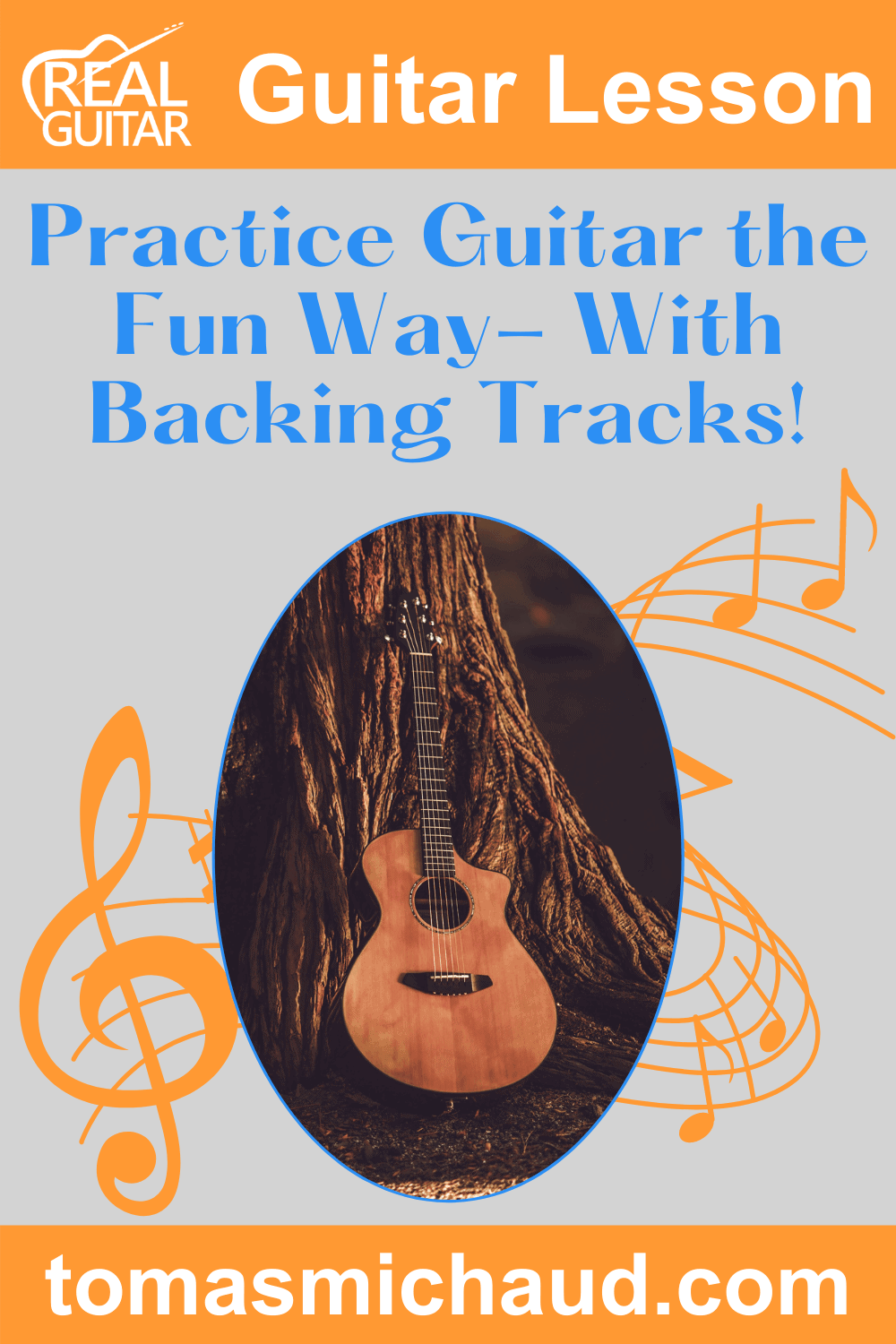 Practice Guitar the Fun Way - With Backing Tracks!