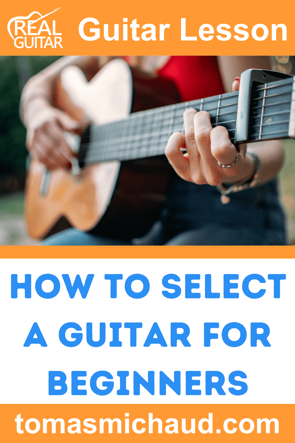 How To Select A Guitar For Beginners