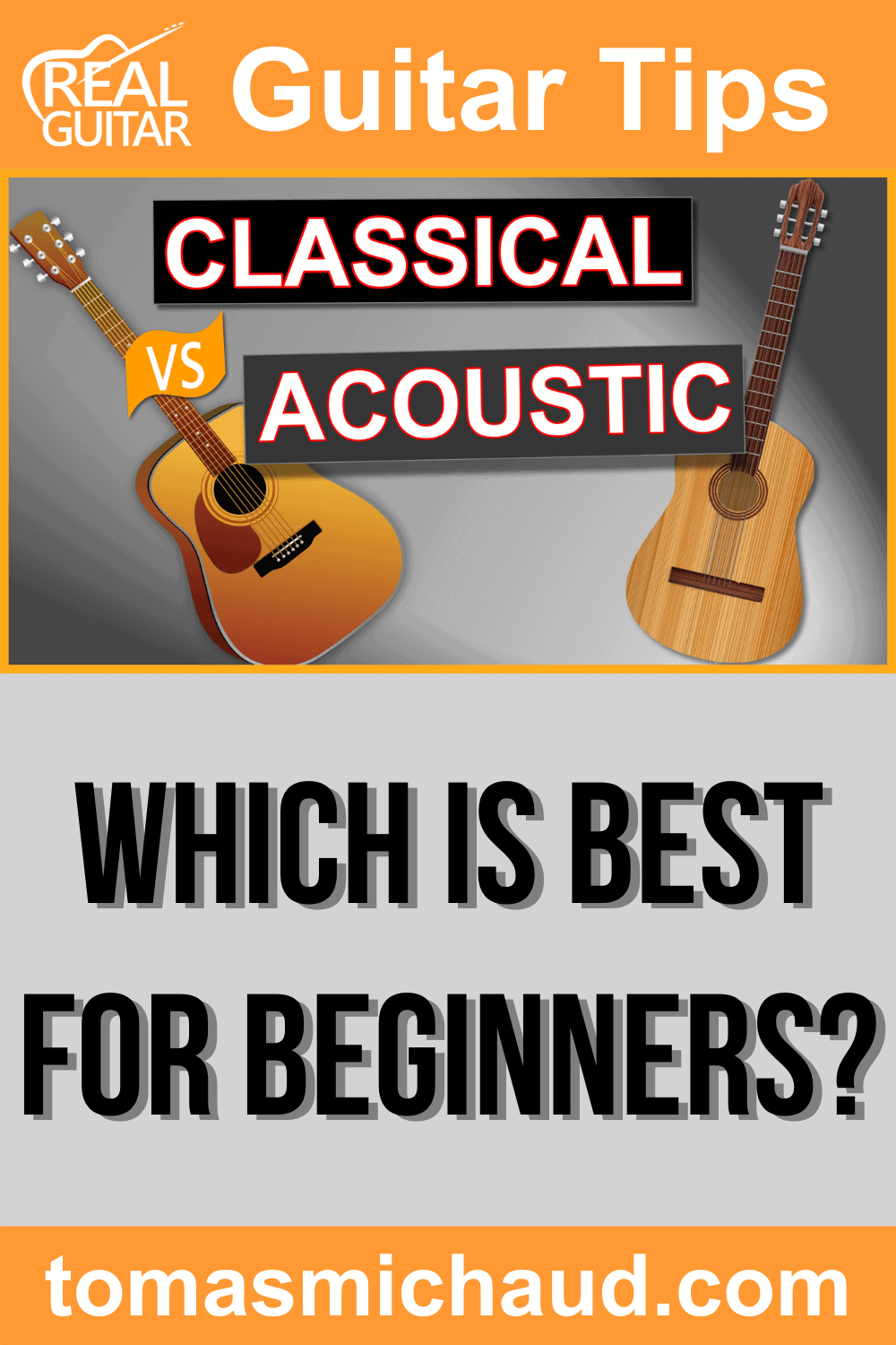 Classical vs. Acoustic. Which is best for beginners?