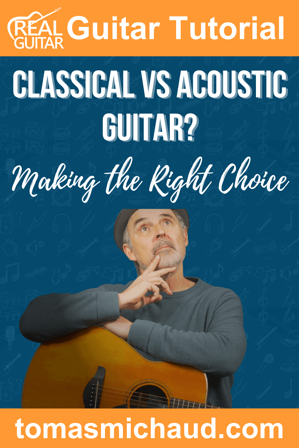 Classical vs. Acoustic Guitar? Making the right choice
