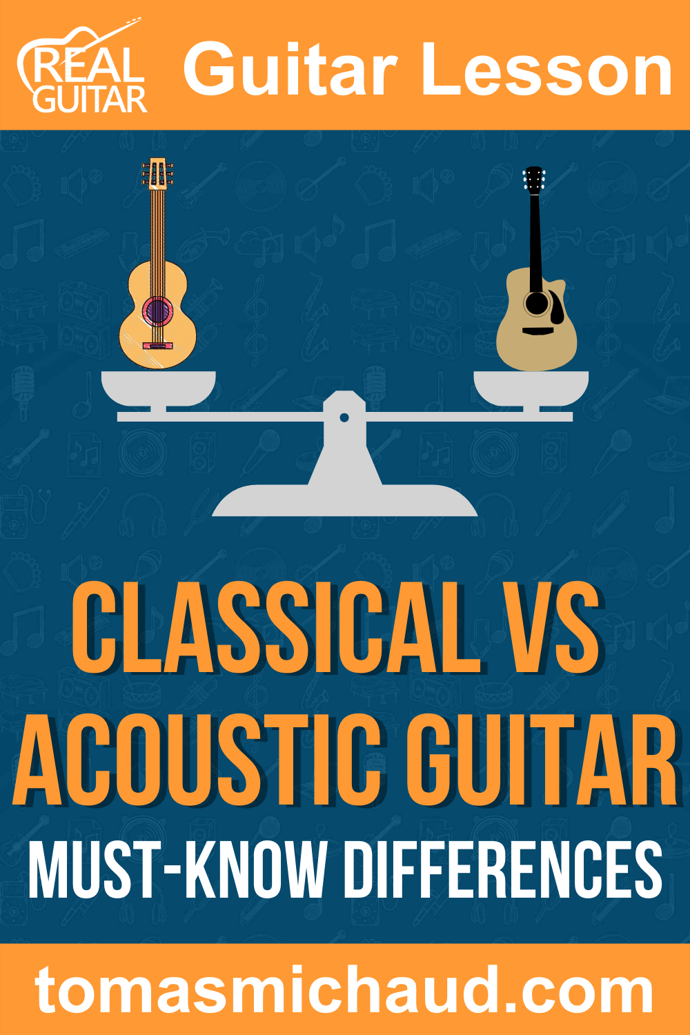 Classical vs. Acoustic Guitar. Must-Know Differences