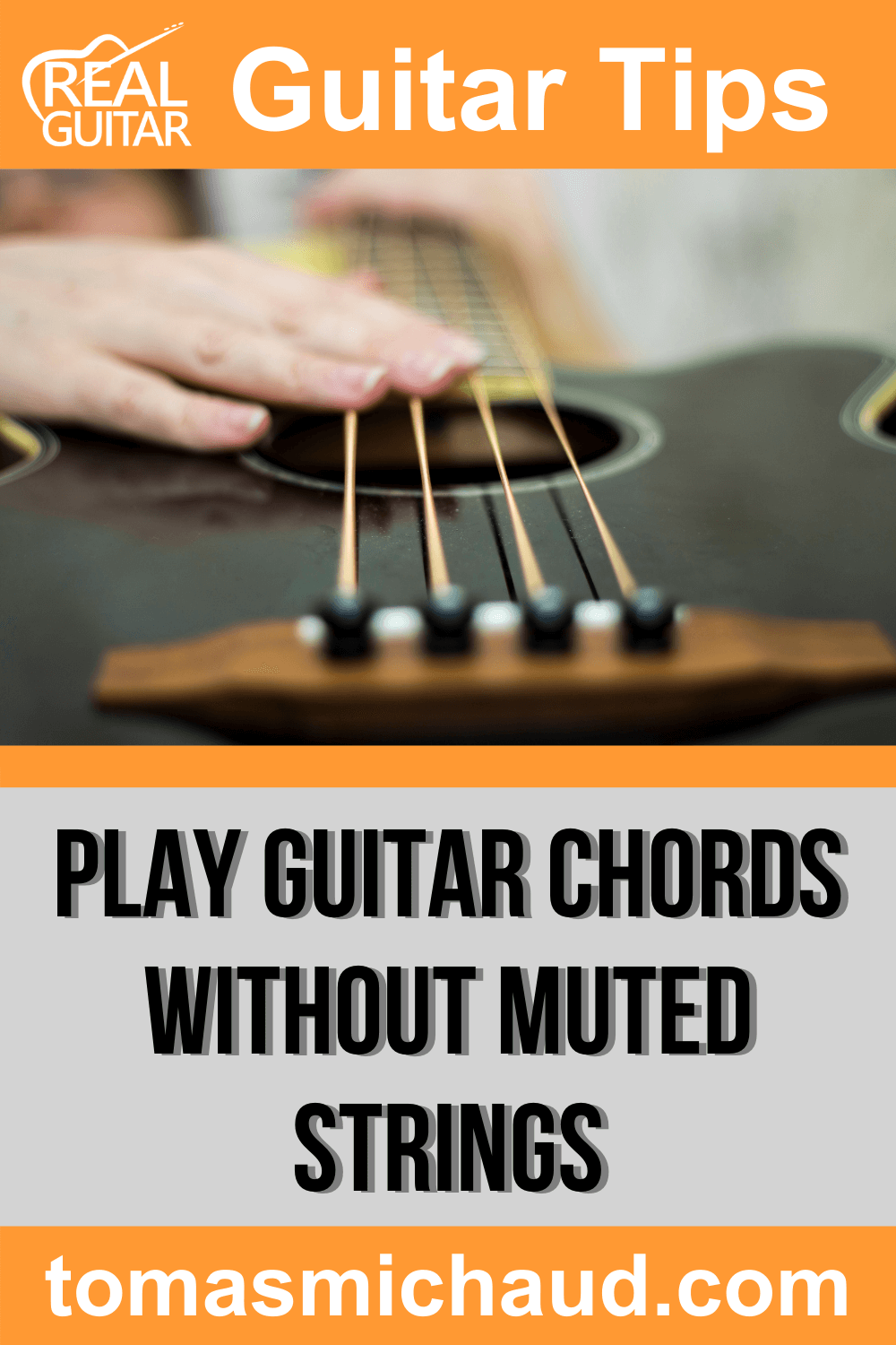 Play Guitar Chords Without Muted Strings