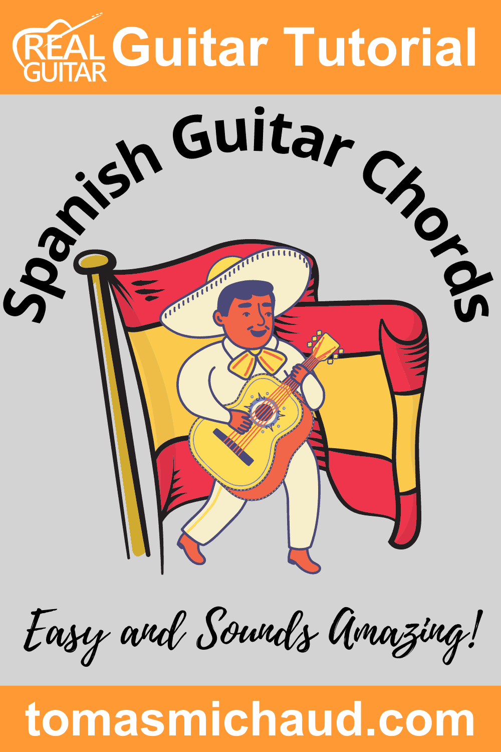 Spanish Guitar Chords. Easy and sounds amazing!