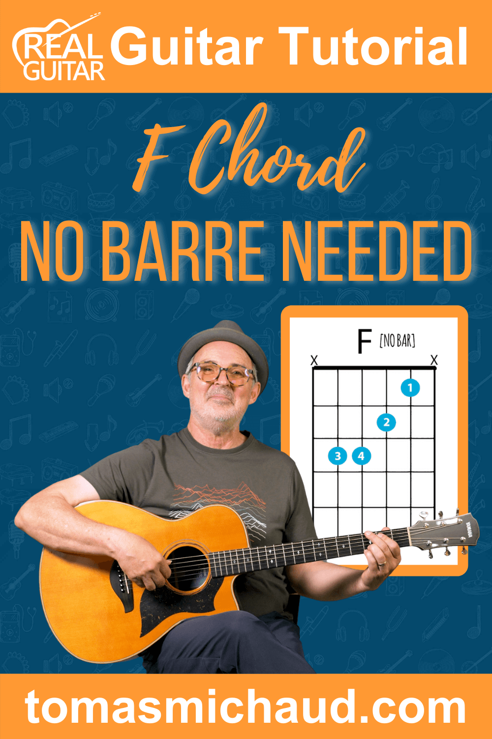 F Chord No Barre Needed