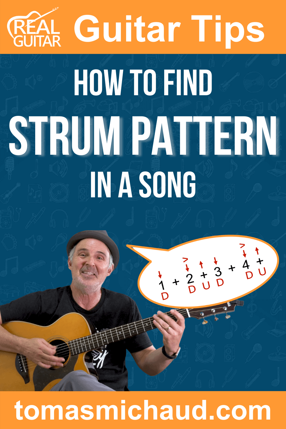 How To Find Strum Pattern In A Song