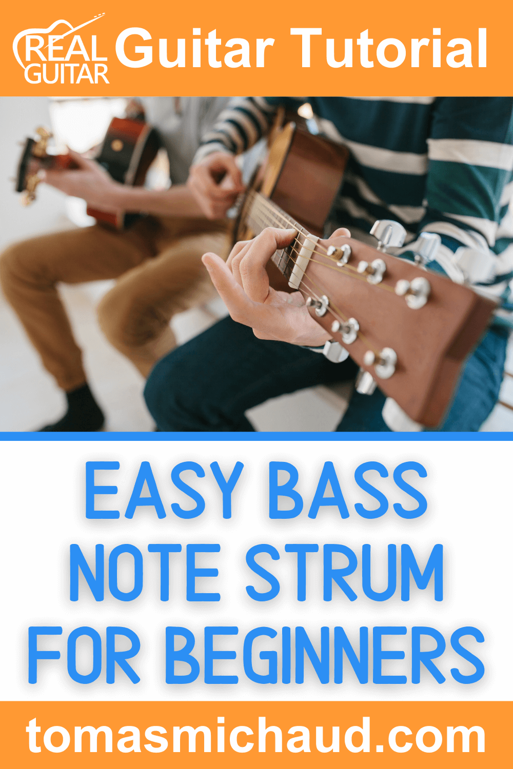 Easy Bass Note Strum For Beginners