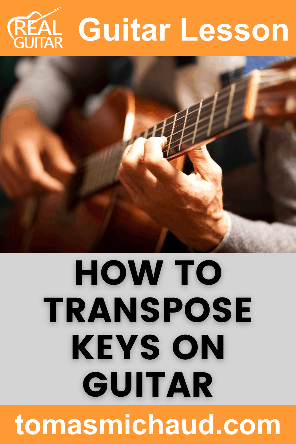 How to Transpose Keys On Guitar