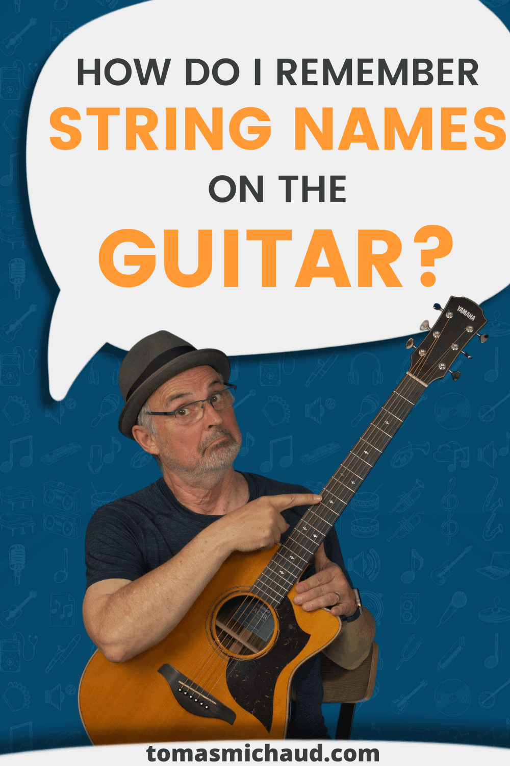 How Do I Remember String Names On The Guitar?