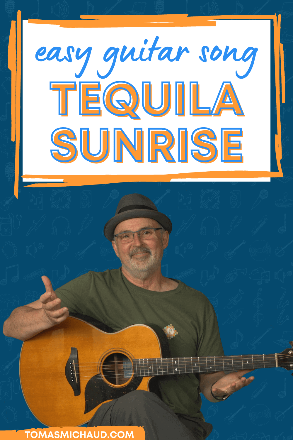 easy guitar song tequila sunrise