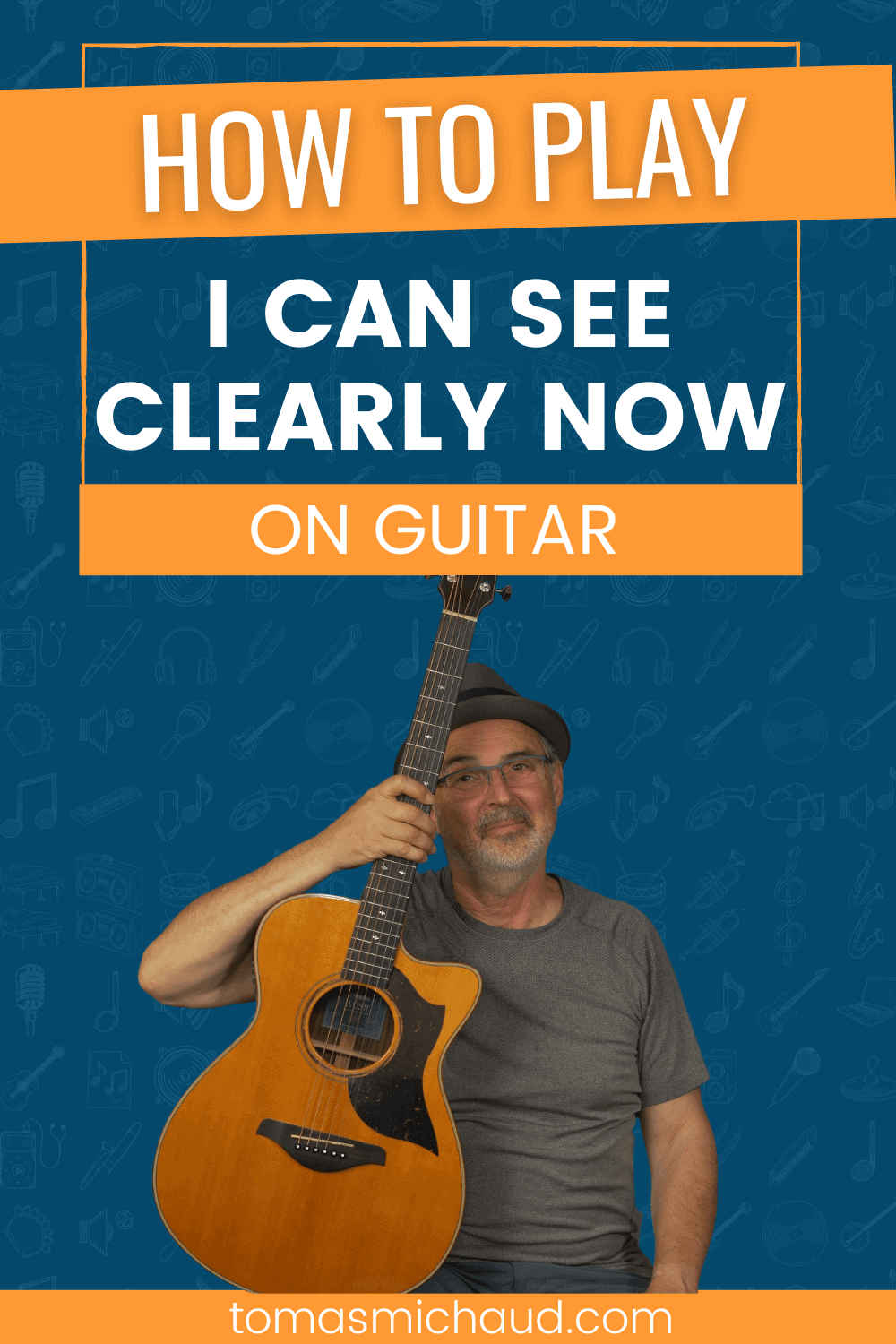 How to Play I Can See Clearly Now On Guitar